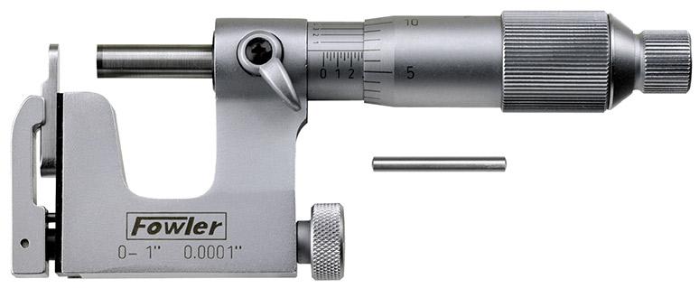 """Fowler 0-1"""" Multi-Anvil Micrometer 52-252-001-0"""