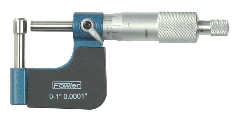 """Fowler 0-1"""" Spherical Tube Micrometer 52-510-602-1"""