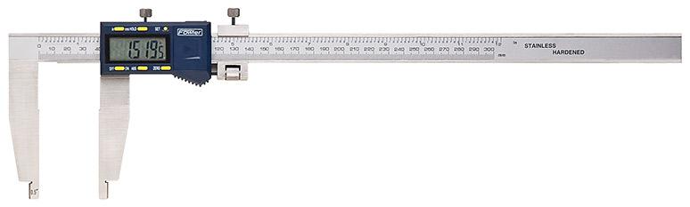 """Fowler 0-24""""/600mm Xtra-Range Electronic Caliper 54-100-024-1tronic Caliper 54 100 024 1"""