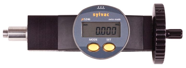 """Fowler 0-2""""/50mm Digital Micrometer Head 54-210-200-0"""