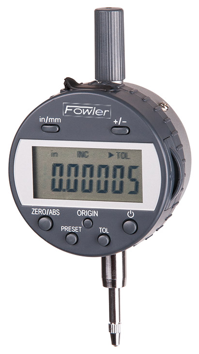 "Fowler 0.5""/12.5mm Indi-Max Electronic Indicator 54-520-305-0"