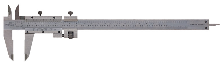 "Fowler 0-8""/200mm Vernier Caliper with Fine Adjustment 52-058-008-0"