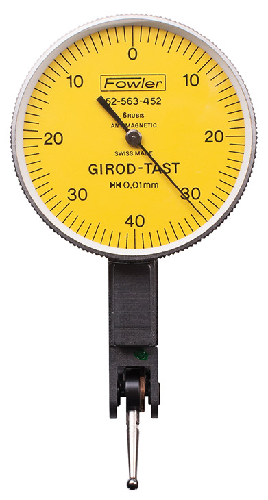 "Fowler 0.2mm Girod ""Horizontal"" Test Indicator 52-563-453-0"