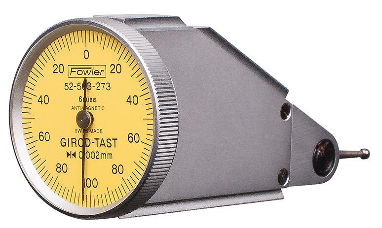 "Fowler 0.2mm Girod ""Vertical"" Test Indicator 52-563-473-0"