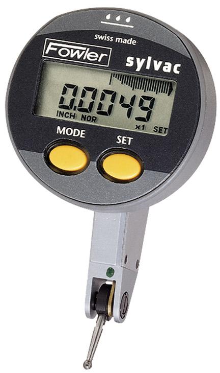 "Fowler .040""/1mm QuadraTest Multimode Electronic Test Indicator 54-562-777-0"
