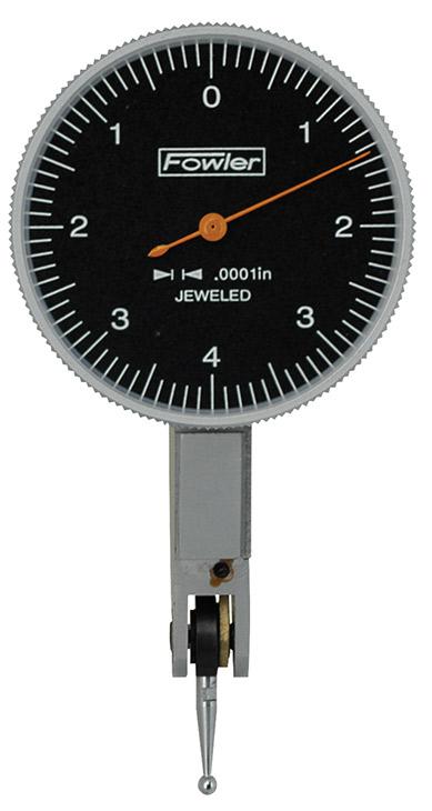 """Fowler 1-1/2"""" Horizontal Blackface Test Indicator 52-563-772-0"""