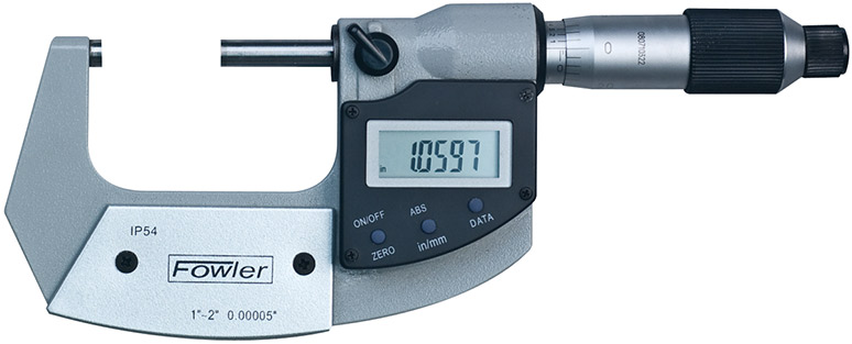 "Fowler 1-2""/25-50mm Xtra-Value Digi-Micrometer 54-815-002-2"