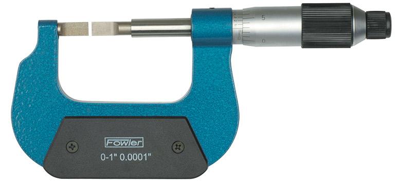 """Fowler 1-2"""" Blade Micrometer 52-246-002-1"""
