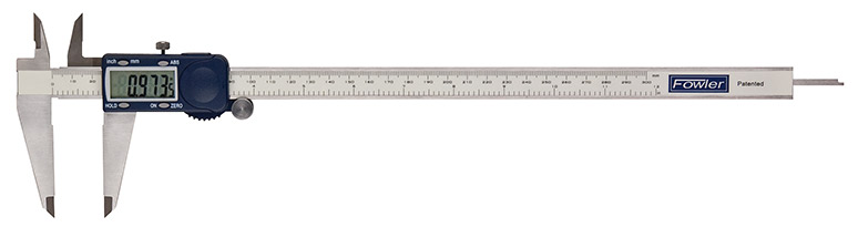 "Fowler 12""/300 Xtra-Value Cal Electronic Caliper with a Super Large Display with HOLD feature"