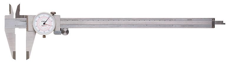 "Fowler 12""/300mm Inch/Metric Reading Dial Caliper 52-030-012-0"