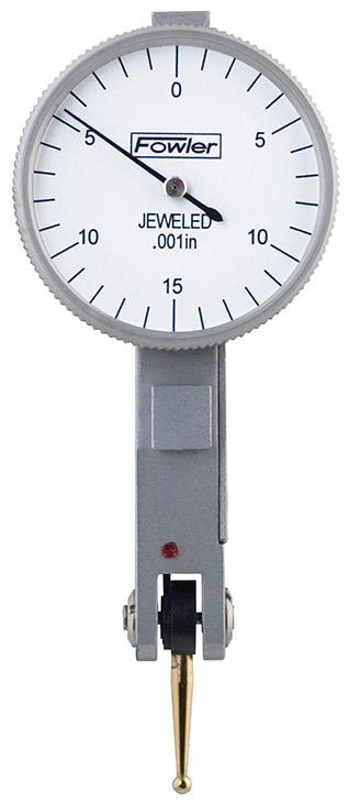 "Fowler 1"" Horizontal Whiteface Test Indicator 52-562-774-0"