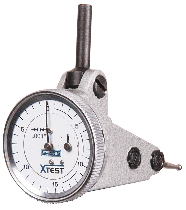 "Fowler 1"" Vertical X-Test Test Indicator 52-562-006-0"