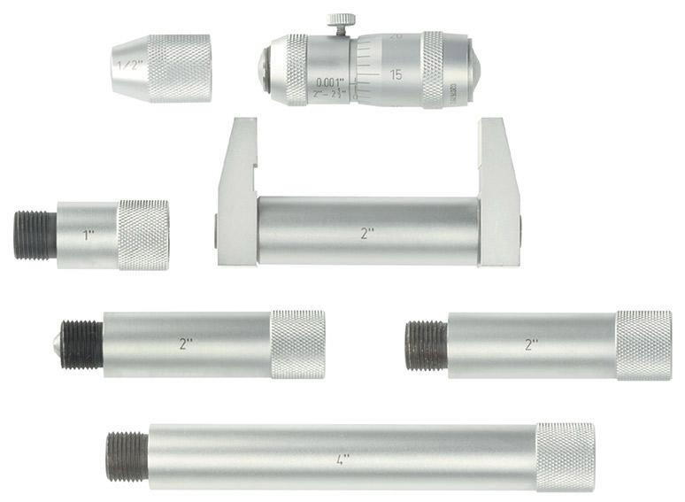 Fowler 2 12in Inside Micrometer 52 243 212 1