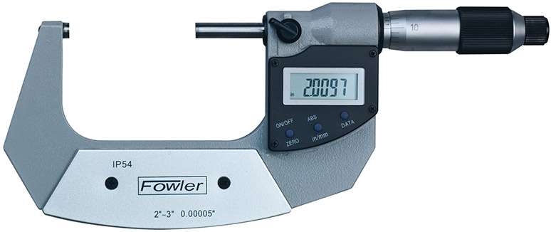 "Fowler 2-3""/50-75mm Xtra-Value Digi-Micrometer 54-815-003-2"
