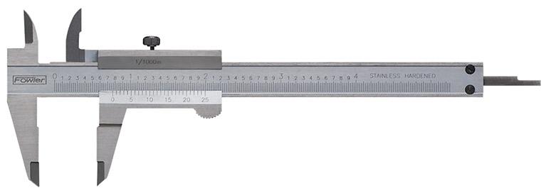 "Fowler 4"" Mini Vernier Pocket Caliper 52-057-004-0"
