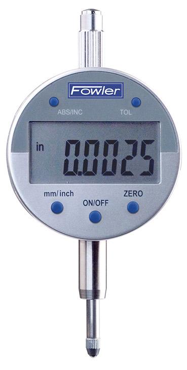 "Fowler .5""/12.5mm Indi-X Blue Electronic Indicator 54-520-255-0"