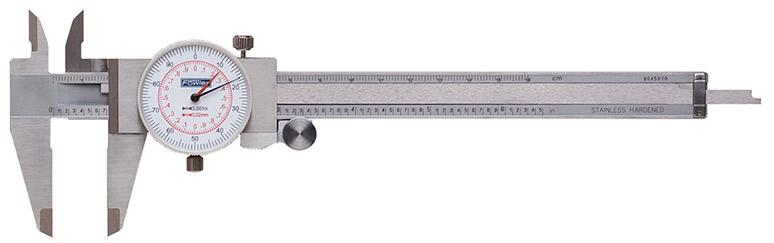 "Fowler 6""/150mm Inch/Metric Reading Dial Caliper 52-030-006-0"