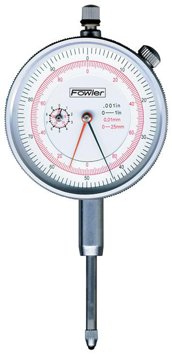 Fowler Inch/Metric Reading Dial Indicator 52-530-110-0