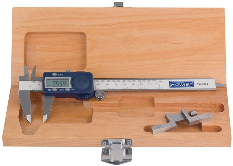 Fowler Xtra-Value Cal Electronic Caliper and Depth Attachment Combo 54-008-715-0
