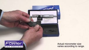 Fowler Digit Counter Micrometers 52-224 Video