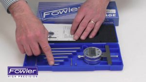 Fowler X-Depth 22 E Electronic Depth Gage 54-125-777 Video