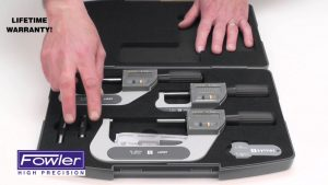Fowler Rapid Mic IP67 Micrometer Set Video