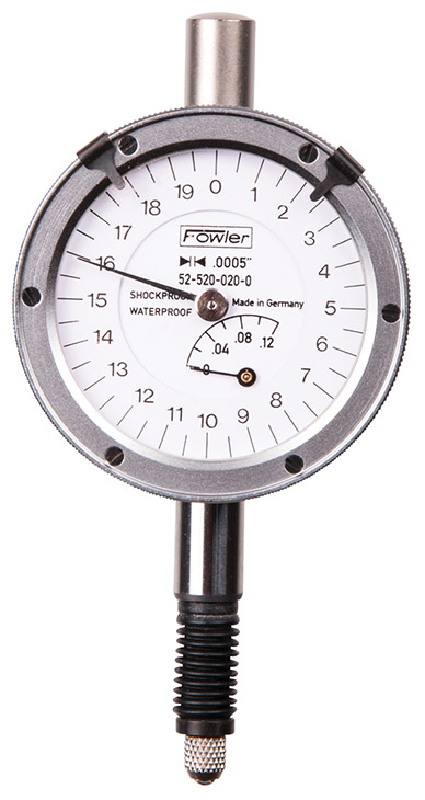 Fowler X-Proof Dial Indicator 52-520-020