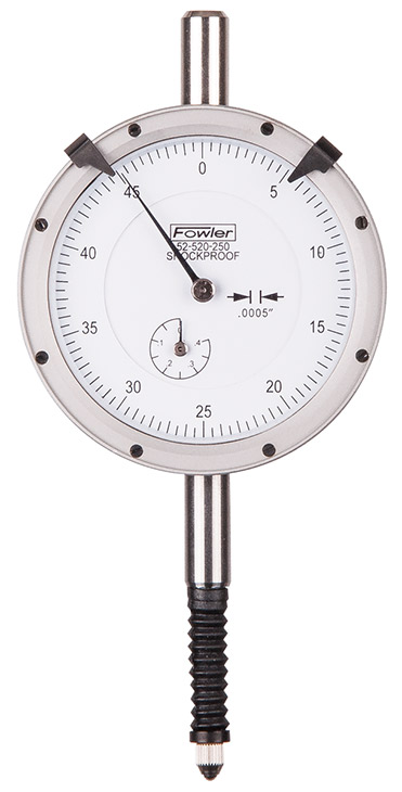 Fowler X-Proof Dial Indicator by Fowler High Precision 52-520-250-1