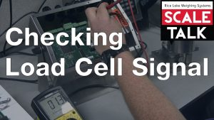 ScaleTalk: Checking Load Cell Signal Video