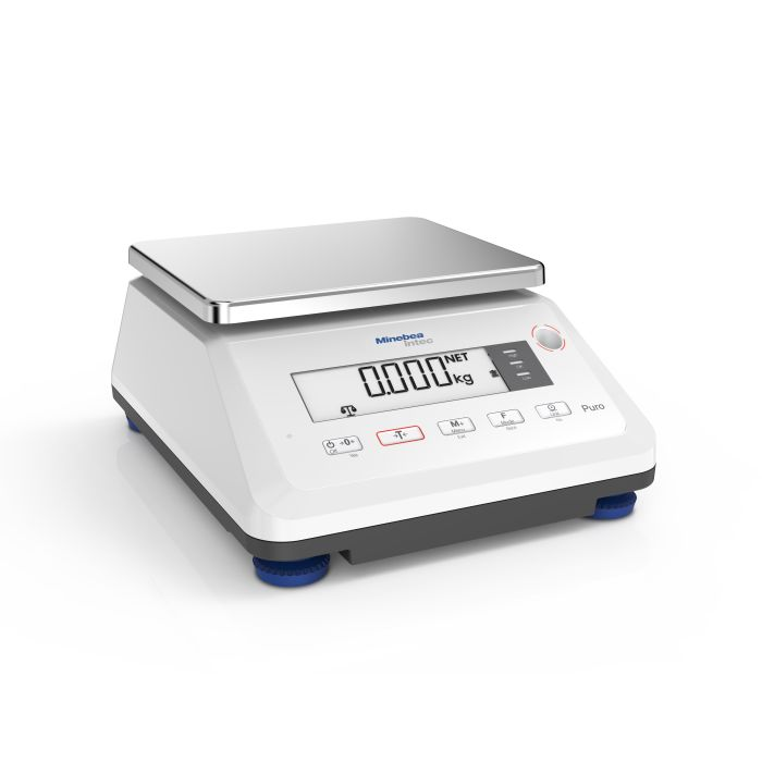 Minebea Intec Puro Compact Small Tall Standard Resolution Scale Minebea Intec Puro Compact Small Tall High Resolution Scale