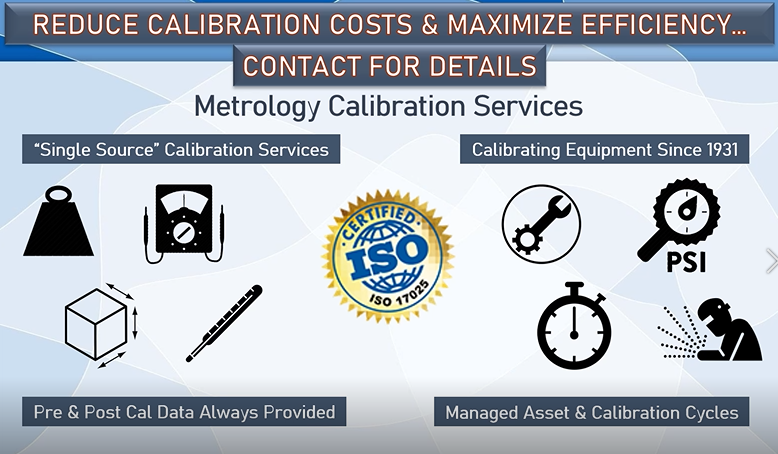 Your Single Source for Calibration