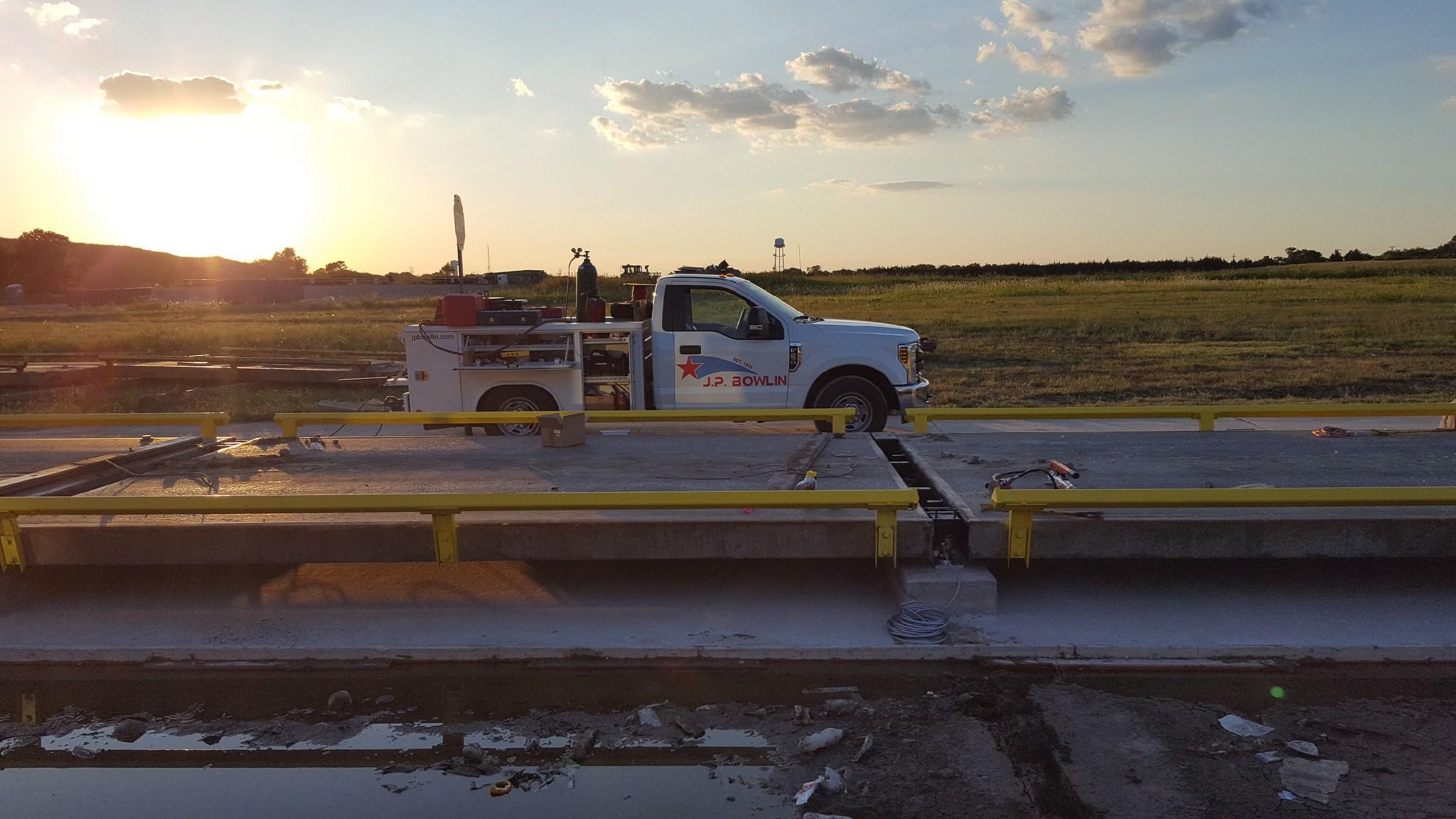 Bowlin Pickup at Sunset